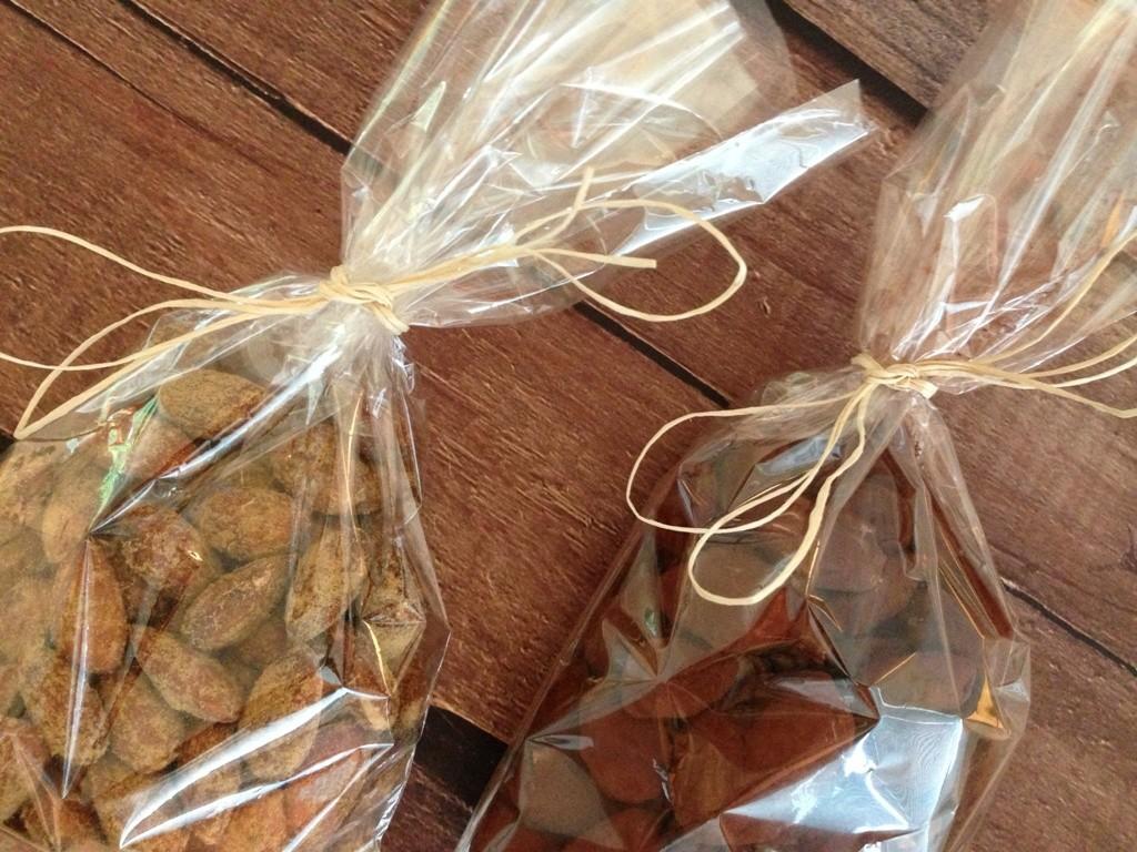 Kakao- og lakrids mandler
