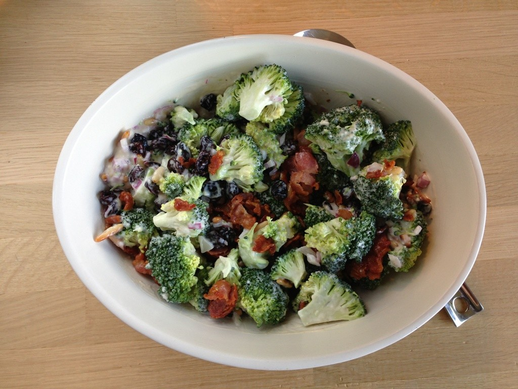 broccolisalat dressing