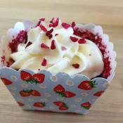 Red velvet cupcakes a la Agnes