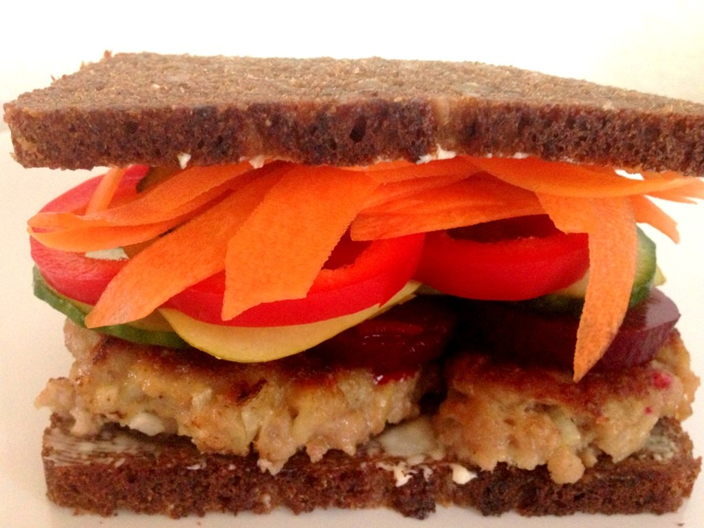 Frikadellesandwich