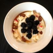 Græsk yoghurt med frugt