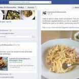 Facebook Inspiration til aftensmaden