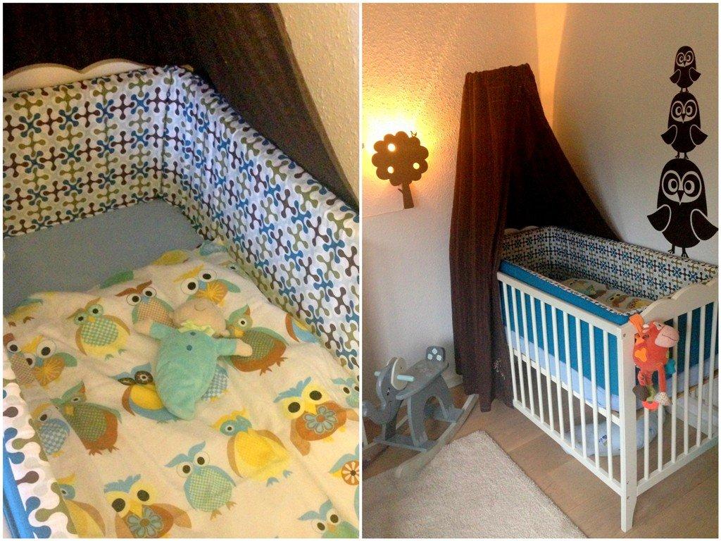 Maltes babyværelse   ugler   madling.dk