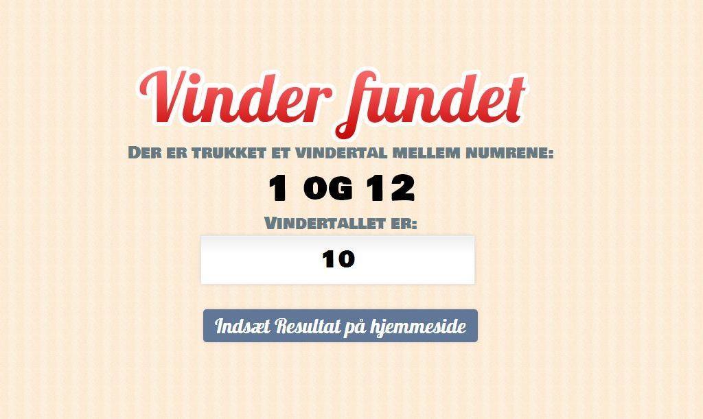 Vindere af wallstickers fra Signstore.dk