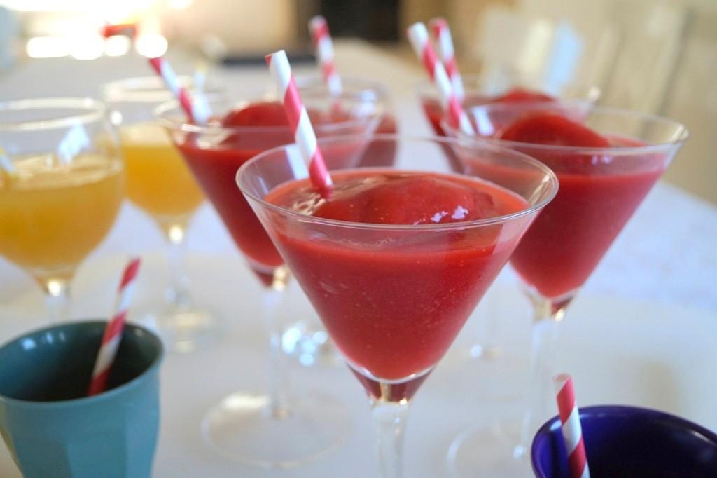 Strawberry daiquiri - uden alkohol
