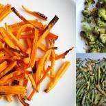 3 x grøntsagsfritter