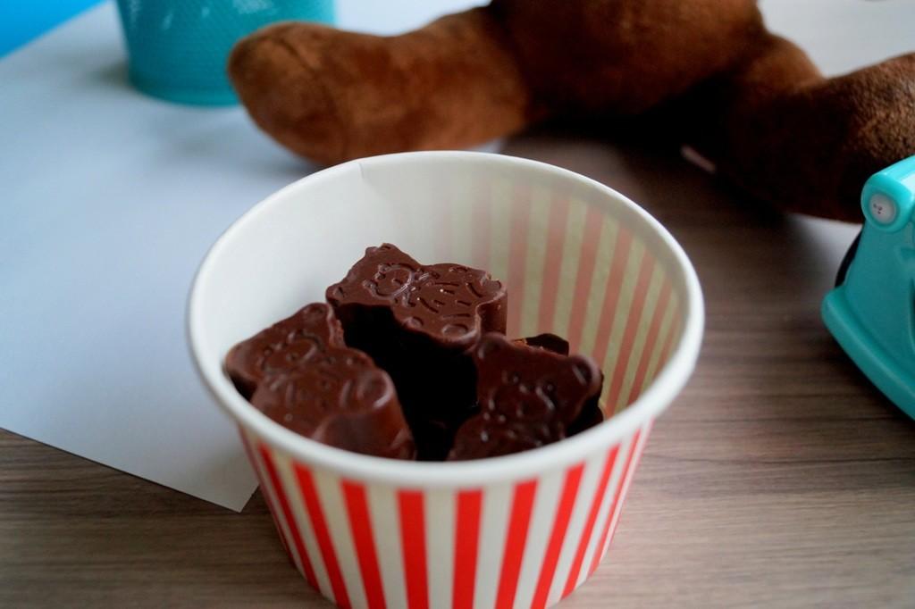 Små hjemmelavede chokolader