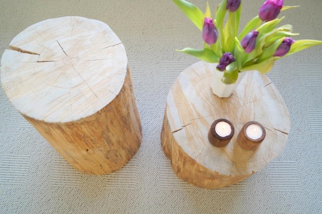 Sådan laver man et bord af en træstub