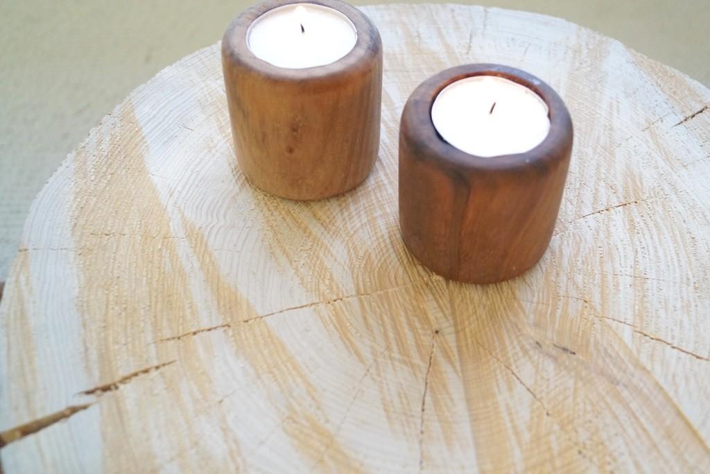 Sådan laver man et bord af en træstub   madling.dk