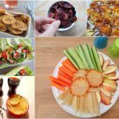 6 sunde slags hjemmelavede chips