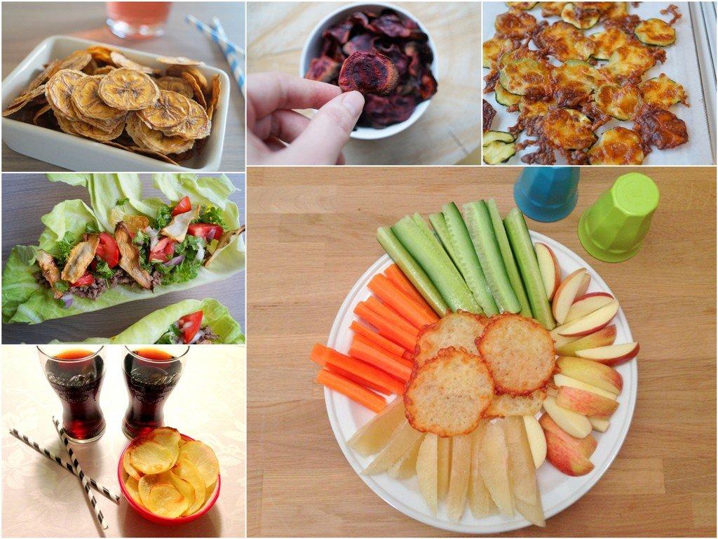 sunde snacks til boern af frugt