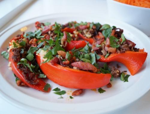 Fyldte peberfrugter