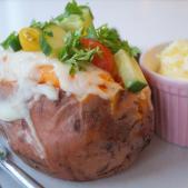 Bagte søde kartofler