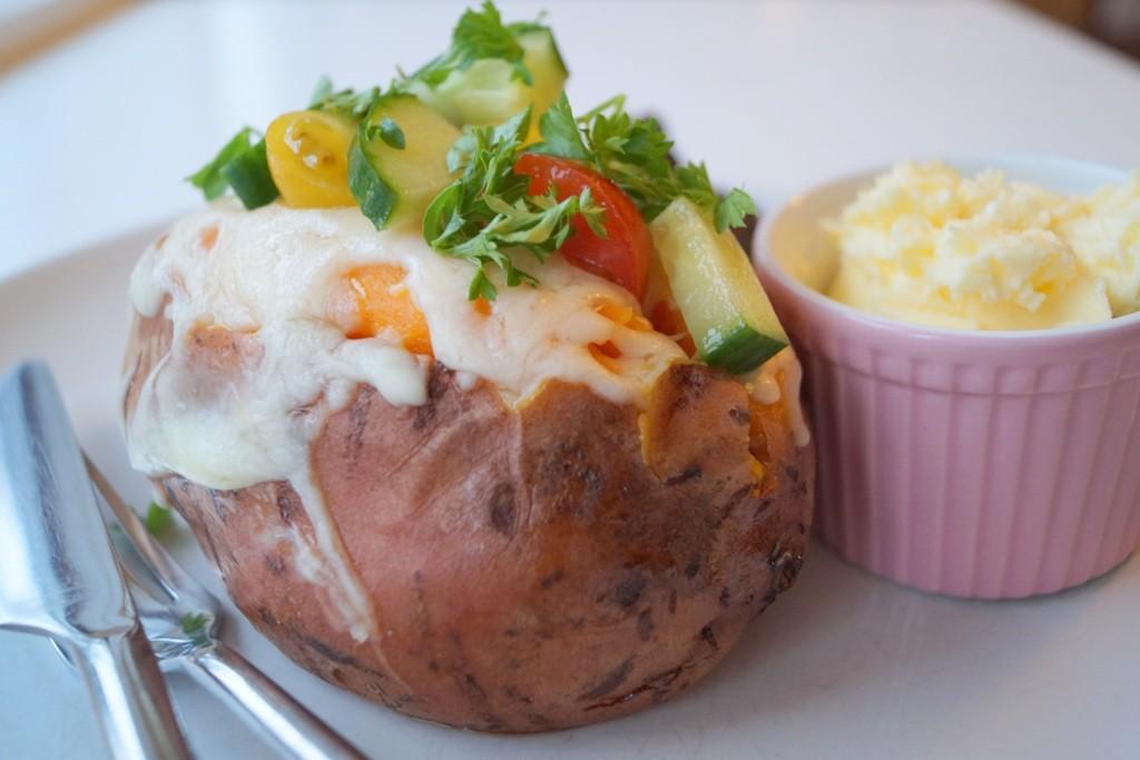 Bagte Søde Kartofler Opskrift