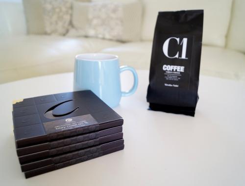Vind chokolade og kaffe til fars dag