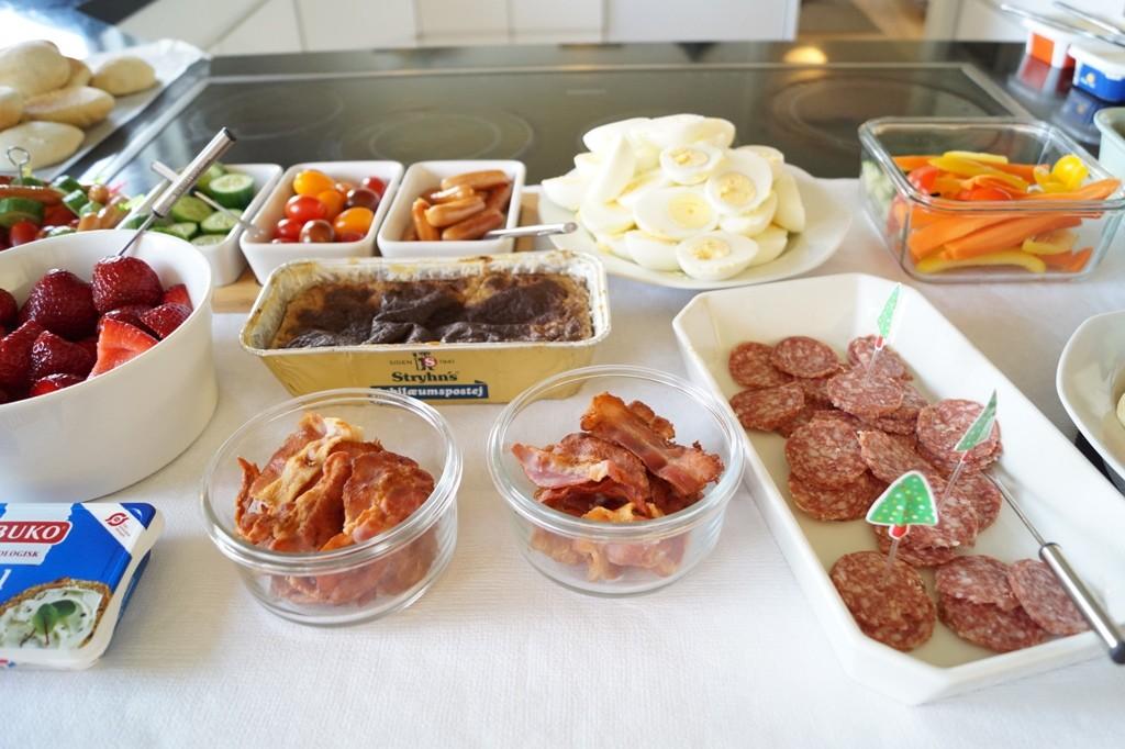 Frokostbord til børnefødselsdag