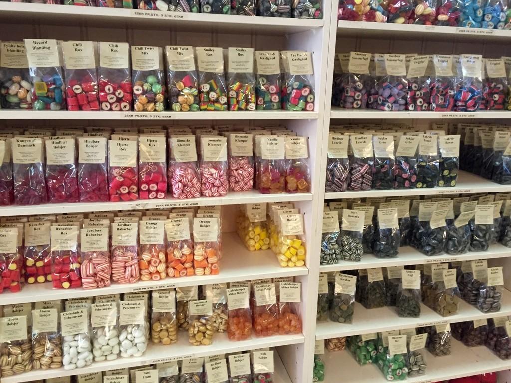 Søde sager og isbutikker