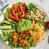 Min grønne tallerken uden kød