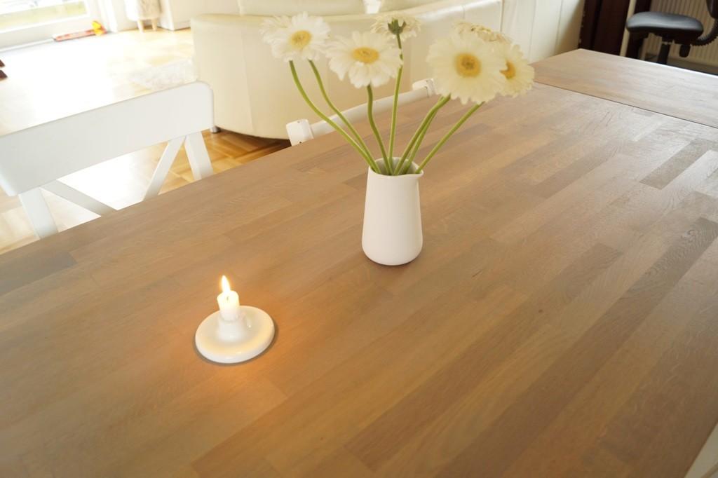 Sådan lakerer man et sæbebehandlet bord