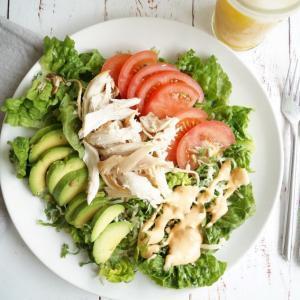 Chef's salad med kylling og avocado