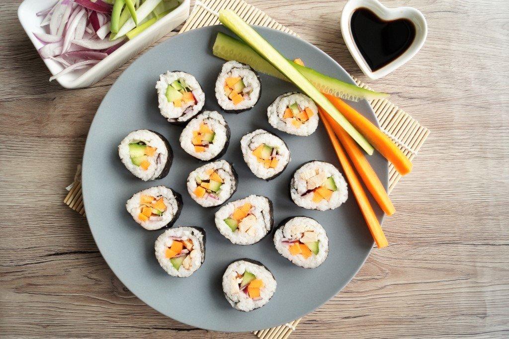 Sushi uden fisk