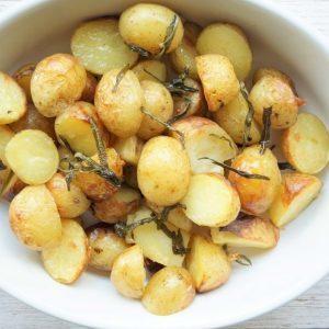 Små ovnkartofler med rosmarin
