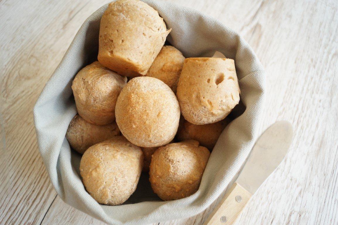 Muffinboller med speltmel