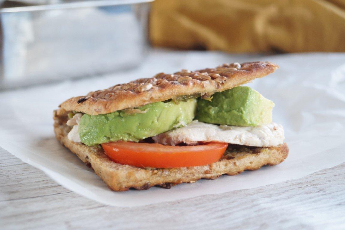 grillet sandwich opskrift