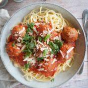 Spaghetti med kødboller