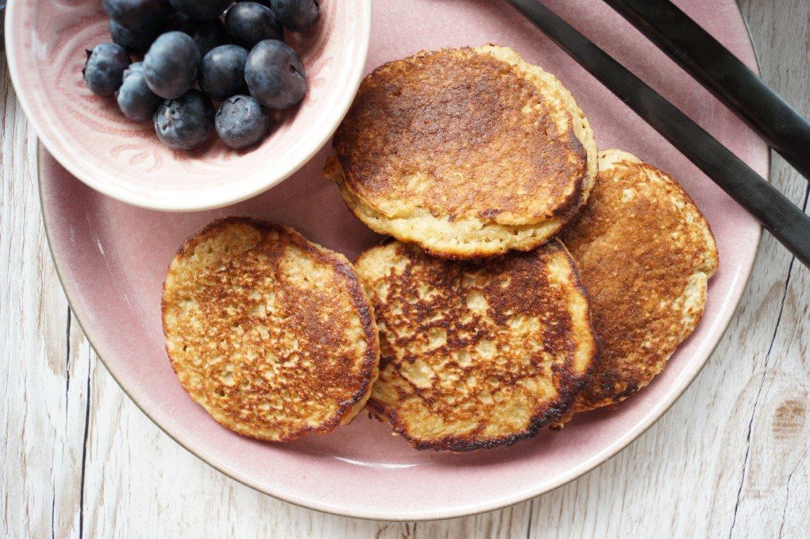 Morgenmadspandekager med havregryn